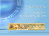 Arbor House - Green Design Etc