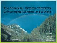 Environmental Corridors and E-Ways - Greendesignetc.net