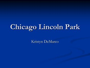 Chicago Lincoln Park - Green Design Etc
