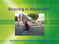 Bicycling in Amsterdam - Green Design Etc