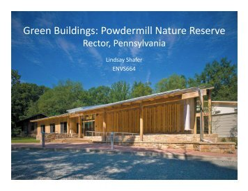 Powdermill Nature Reserve - Green Design Etc