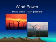 Wind Power - Green Design Etc