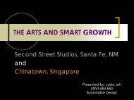 The Arts and Smart Growth - Greendesignetc.net