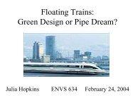 Floating Trains: Green Design or Pipe Dream? - Greendesignetc.net