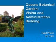 Queens Botanical Garden: Visitor and Administration Center