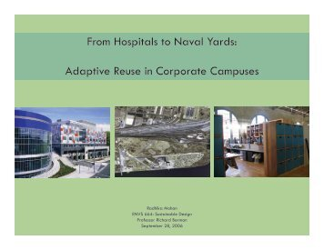 From Hospitals to Naval Yards: Adaptive Reuse in Corporate ...
