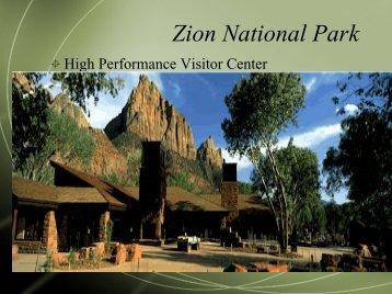 Zion National Park - Green Design Etc