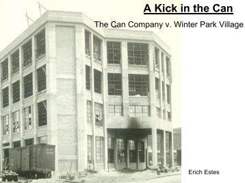 The Can Company vs. Winter Park Village - Green Design Etc