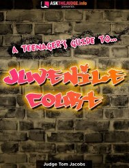 A Teenager's Guide to Juvenile Court - Greene County, Missouri