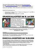Info Nr. 11 Februar 2009 - Bachschloss-Schule - Seite 2