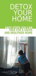 DETOX YOUR HOME - Safer Solutions