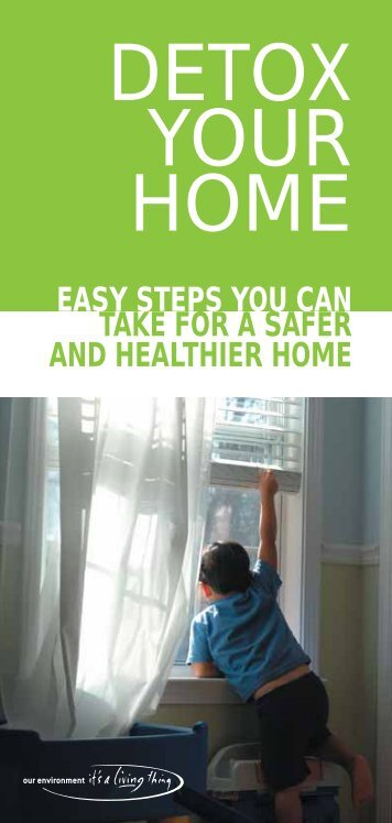 DETOX YOUR HOME - Safer Solutions