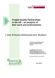 Freight Quality Partnerships in the UK