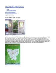 Cinta Stasiun Jakarta Kota - Green Map System