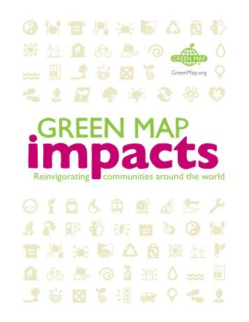 Reinvigorating communities around the world - Green Map System