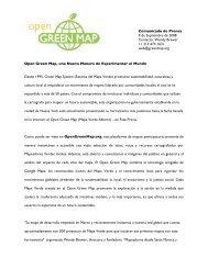 Open Green Map, una Nueva Manera de Experimentar el Mundo ...