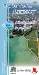 Annecy - Green Map System