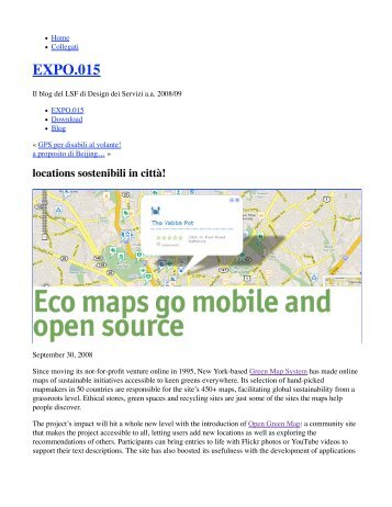 EXPO.015 - Green Map System