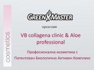 VB collagena clinic & Aloe professional - Green Master