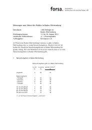 vom forsa-Institut durchgeführte Umfrage - Greenpeace Karlsruhe