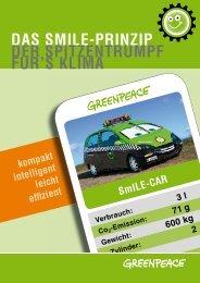 DAS SMILE-PRINZIP DER SPITZENTRUMPF F R'S ... - Greenpeace