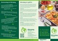 Projekt-Flyer - Greenpeace-Gruppe Stuttgart