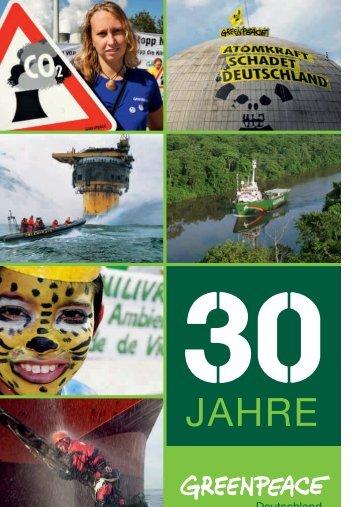 30 Jahre Greenpeace Deutschland - Greenpeace-Gruppe Stuttgart