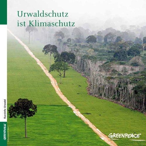 Urwaldschutz ist Klimaschutz - Greenpeace-Gruppe Stuttgart