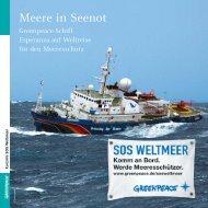 Meere in Seenot - Greenpeace-Gruppe Stuttgart