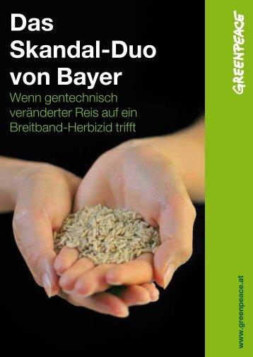 Das Skandal Duo von Bayer