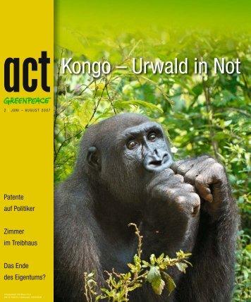Kongo – Urwald in Not