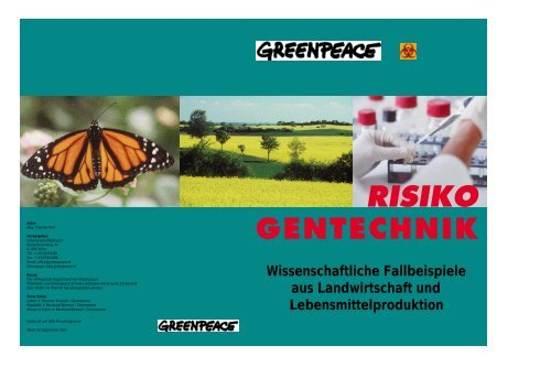 2. Risiko Gentechnik