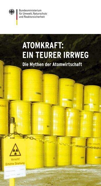 ATOMKRAFT: EIN TEURER IRRWEG - Die Mythen ... - Greenpeace