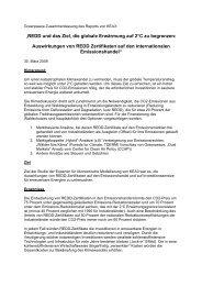 Kurzfassung Greenpeace Report zu REDD