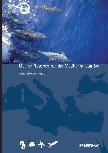 Marine Reserves for the Mediterranean Sea - Greenpeace
