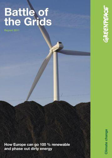 Battle of the Grids, Greenpeace 2011