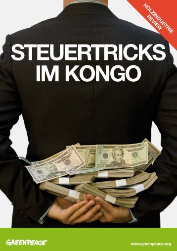 Steuertricks im Kongo - Greenpeace