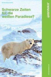 Kurzinfo Arktis und Antarktis - Greenpeace