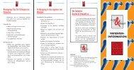 Initiative Arznei & Vernunft - Osteoporose - Patienteninformation