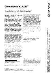 Zusammenfassung TCM dt. - Greenpeace