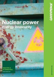Nuclear power - Greenpeace