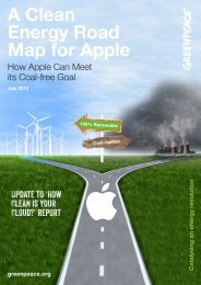 A Clean Energy Road Map for Apple - Greenpeace
