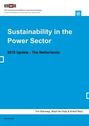 Sustainability in the Power Sector 2010 Update - Somo