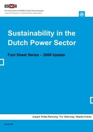 Sustainability in the Dutch Power Sector - Greenpeace Nederland