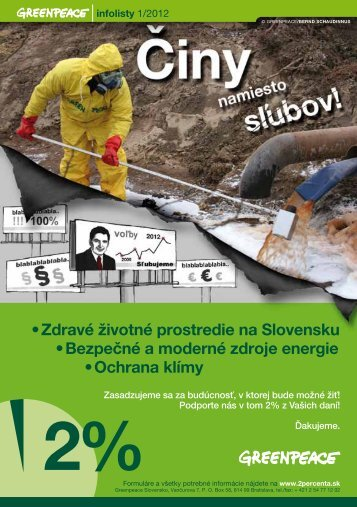 Infolisty 1/2012 - Greenpeace