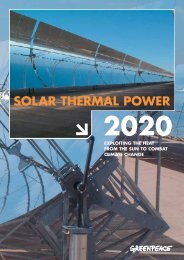 solar thermal power - Greenpeace