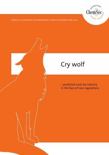 Cry wolf 04_04 - Greenpeace