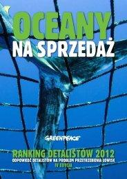 ranking detalistów 2012 - Greenpeace