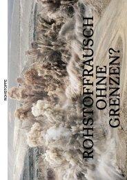Rohstoffrausch ohne Grenzen? - Greenpeace