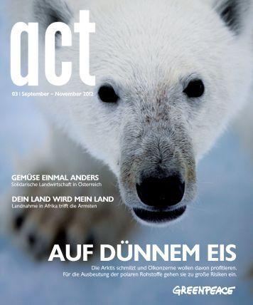 aUf düNNem eiS - Greenpeace